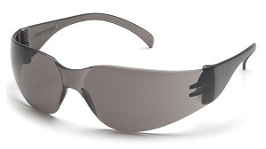 Intruder Safety Glasses - Gray Lens/Frame