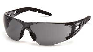 Fyxate Gray H2X Anti-Fog Lens Clear And Black Temples