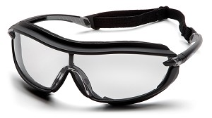 XS3 PLUS Clear Anti-Fog Lens with Black Frame