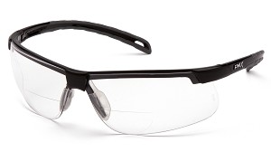 6 Pack Ever-Lite Readers Safety Glasses - Clear 3.0 Bi-Focal Lens