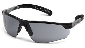 Sitecore - Black and Gray Temples - Gray H2MAX Anti-Fog Lens