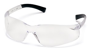 Pyramex S9110S Atoka Safety Glasses - Black Temples - Clear Lens