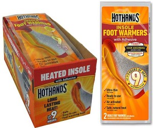 Hothands Insole Foot Warmers  16 Pair Box