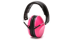 Low Profile Pink Earmuffs